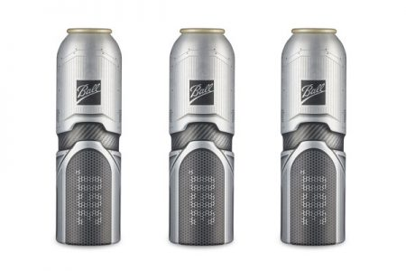 Ball launches new aerosol can in Paris