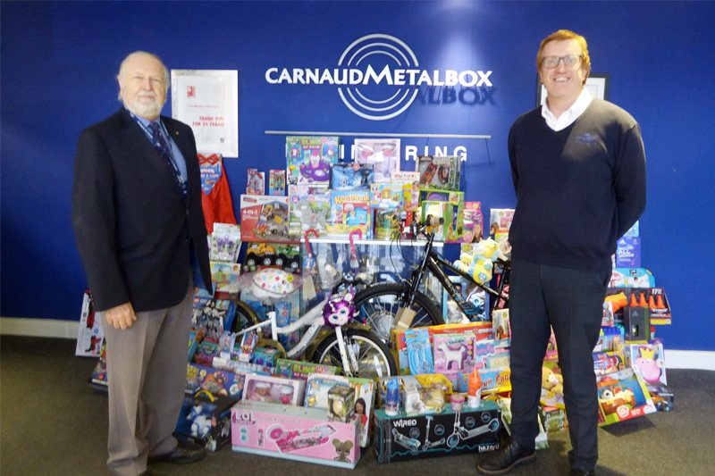 CMB supports Christmas toy appeal